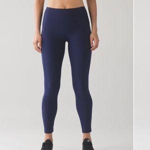 LULULEMON hero blue sleet sprinter tight yoga pant